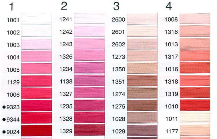 刺繍糸の色