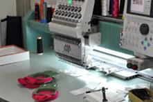 刺繍確認用サンプル製作